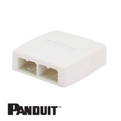 Panduit Mini-Com nazidna kutija 4 Port