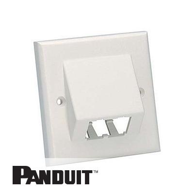 Panduit Mini-Com uzidna maska 2 Port