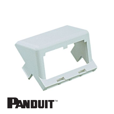 Panduit Mini-Com nosač modula, 2 Port, kosi