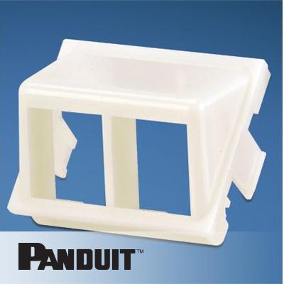 Panduit NetKey nosač modula, 2 Port, kosi