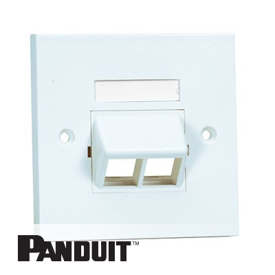Panduit NetKey uzidna maska 2 Port