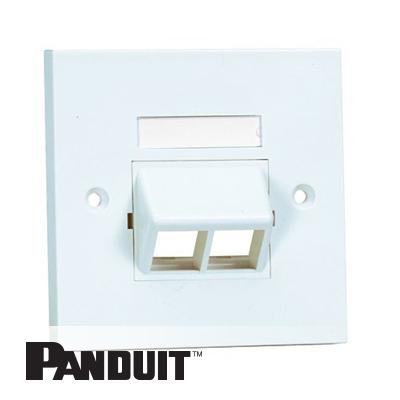 Panduit NetKey uzidna maska 2 Port