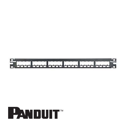 Panduit Mini-Com Patch Panel, 24-portni, 1U