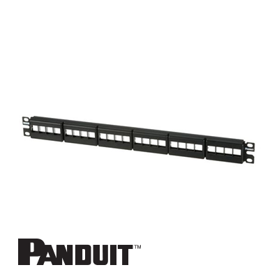 Panduit NetKey Patch Panel, 24-portni, 1U