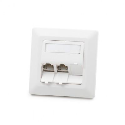 Uzidna kutija, 3-portna, prazna, bijela