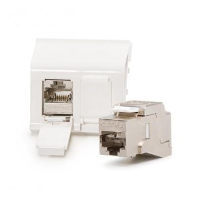Nosač modula za mikroutičnice, keystone, ravan, prazan