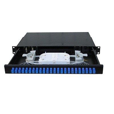 Optički patch panel za 24 SC SM porta